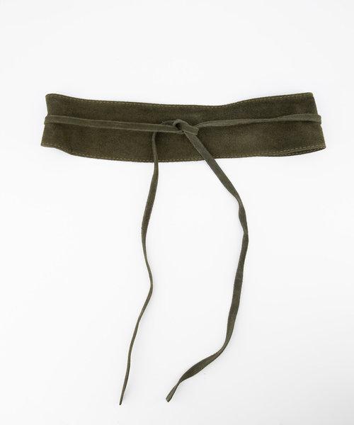 Nikkie - Suede - Waist belts - Green - 49 -