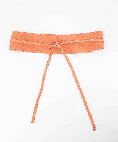 Nikkie - Suede - Waist belts - Pink - 27 -