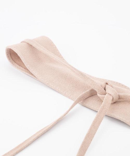 Nikkie - Suede - Waist belts - Pink - 43 -