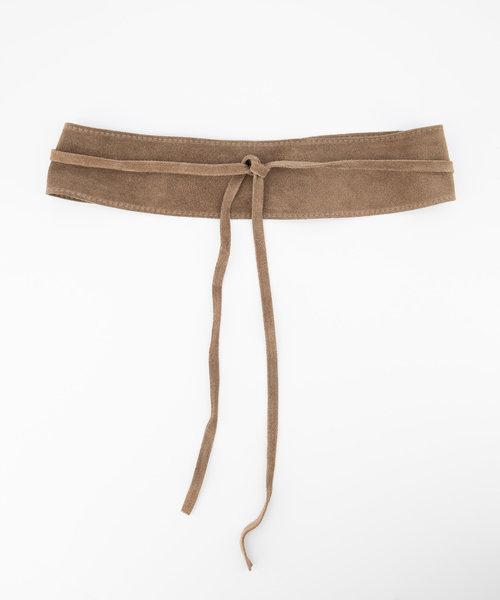 Nikkie - Suede - Waist belts - Taupe - 24 -