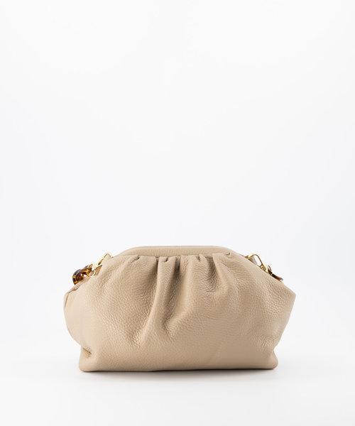Beau - Classic Grain - Shoulder bags - Taupe - D05 - Gold