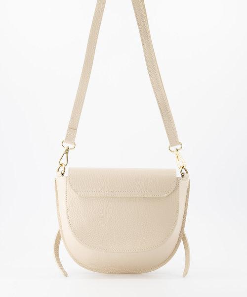 Colette - Classic Grain - Crossbody bags - White - D37 - Gold