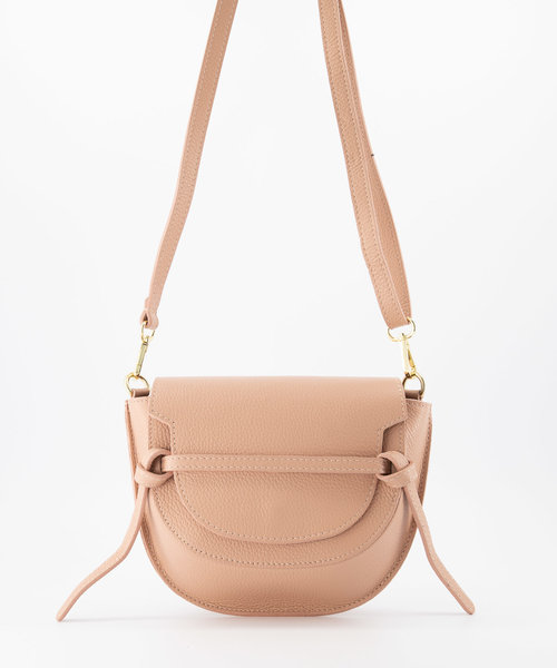 Colette - Classic Grain - Crossbody bags - Pink - D83 - Gold