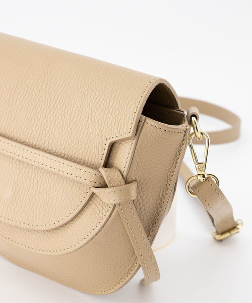 Colette - Classic Grain - Crossbody bags - Taupe - D05 - Gold