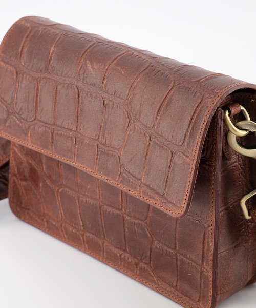Hannah - Classic Grain - Crossbody bags - Brown - 37 - Bronze