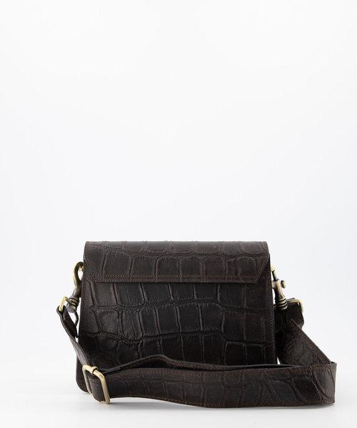 Hannah - Classic Grain - Crossbody bags - Brown - 7 - Bronze