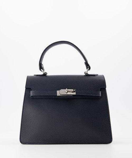 Helene - Classic Grain - Hand bags - Blue - D26 - Silver