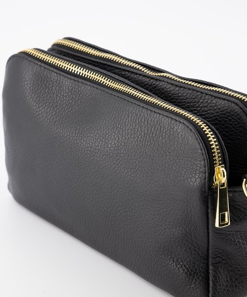 Simone - Classic Grain - Crossbody bags - Black - D28 - Gold