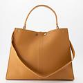 Noelle - Classic Grain - Hand bags - Brown - D44 - Gold
