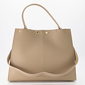 Noelle - Classic Grain - Hand bags - Taupe - D05 - Gold