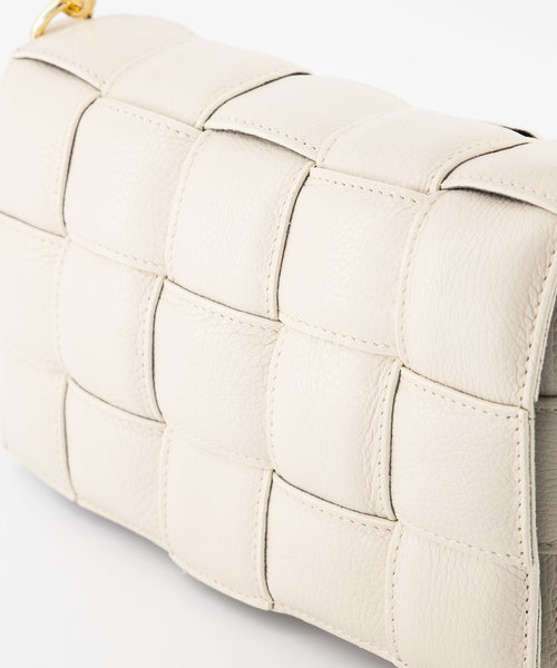 Bodina - Classic Grain - Crossbody bags - White - D37 - Gold