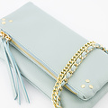 Volly - Classic Grain - Crossbody bags - Blue - D102 - Gold
