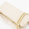 Volly - Classic Grain - Crossbody bags - White - D37 - Gold