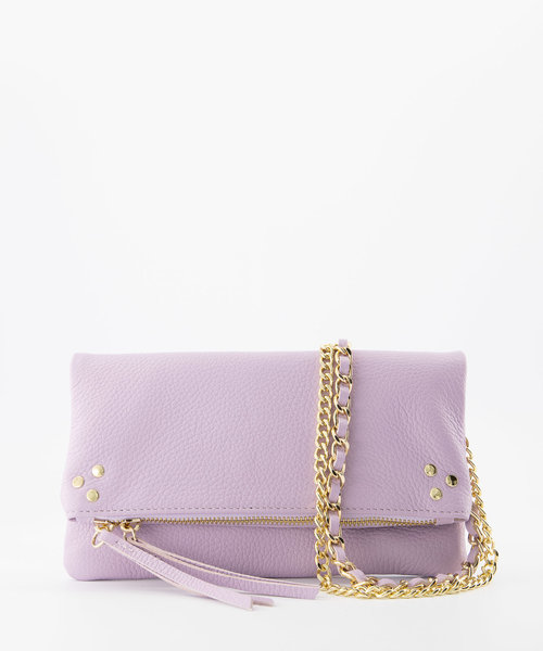 Volly - Classic Grain - Crossbody bags - Purple - D55 - Gold