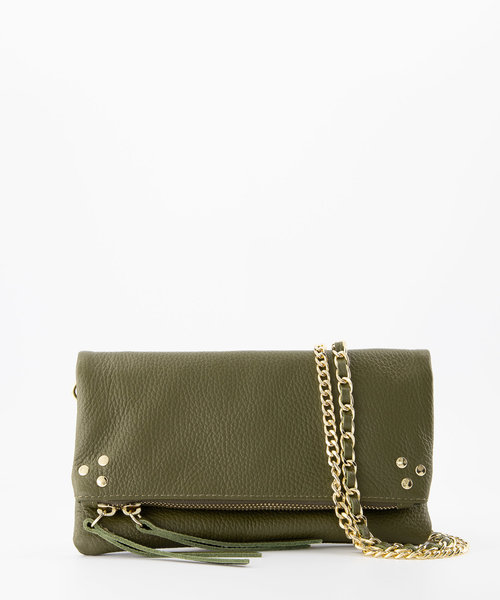 Volly - Classic Grain - Crossbody bags - Green - D74 - Gold