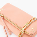 Volly - Classic Grain - Crossbody bags - Pink - D103 - Gold