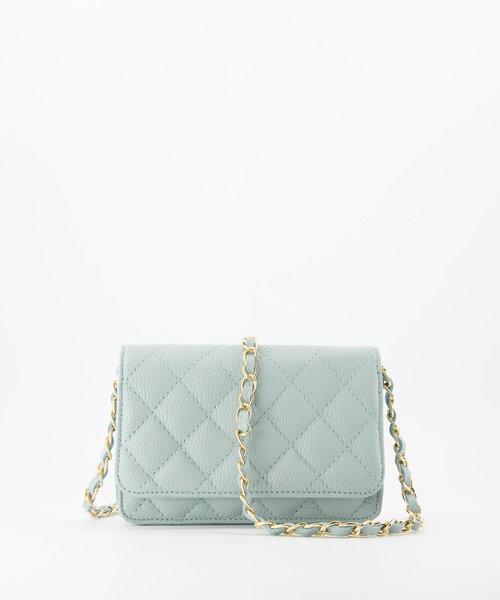 Jamy - Classic Grain - Crossbody bags - Blue - D102 - Gold
