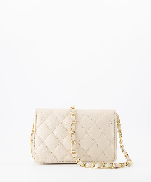 Jamy - Classic Grain - Crossbody bags - White - D37 - Gold