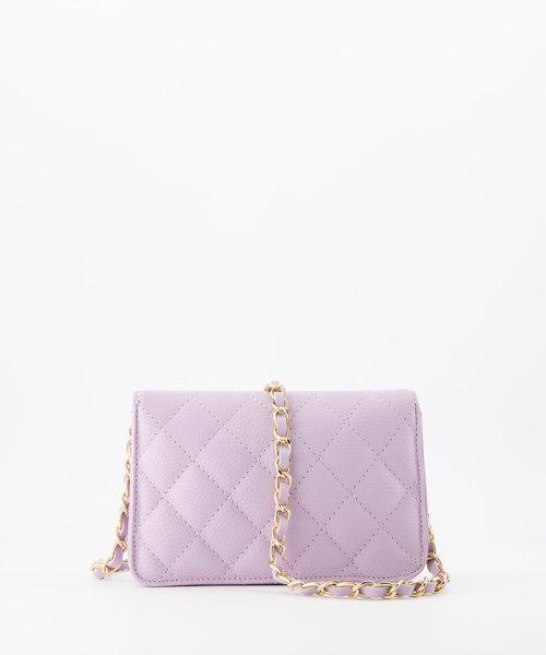 Jamy - Classic Grain - Crossbody bags - Purple - D55 - Gold