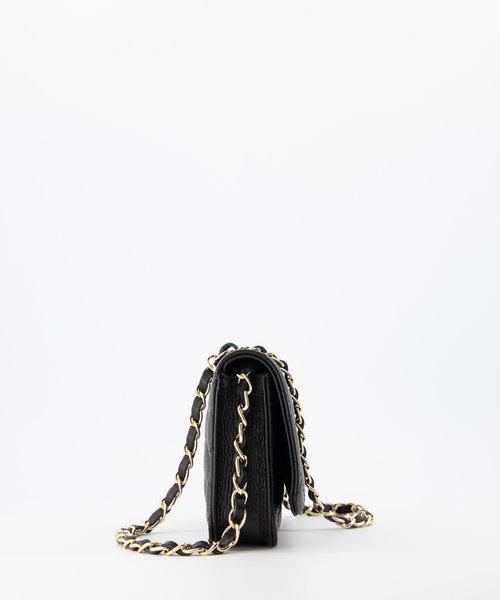 Jamy - Classic Grain - Crossbody bags - Black - D28 - Gold