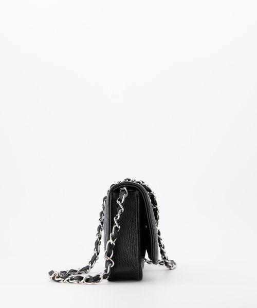 Jamy - Classic Grain - Crossbody bags - Black - D28 - Silver