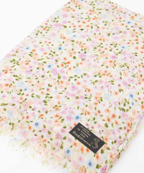 Delina - - Printed scarves - - Flowers -