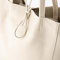 Mia - Classic Grain - Shoulder bags - White - D37 -