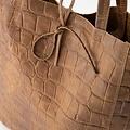 Mia - Croco - Shoulder bags - Taupe - 24 -