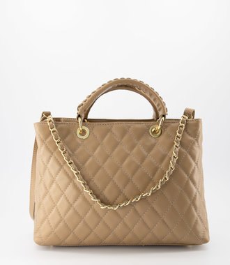 Carissa - Sauvage - Hand bags - - Camel - Gold