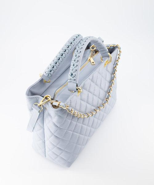 Carissa - Sauvage - Handtassen - Blauw - Goudkleurig