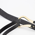 Joyce - Sauvage - Belts with buckles - Black - Zwart - Gold