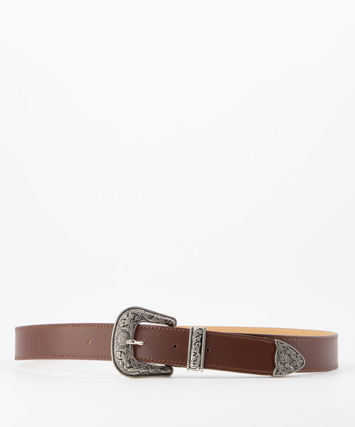Roxy - Sauvage - Belts with buckles - Brown - Bruin - Silver