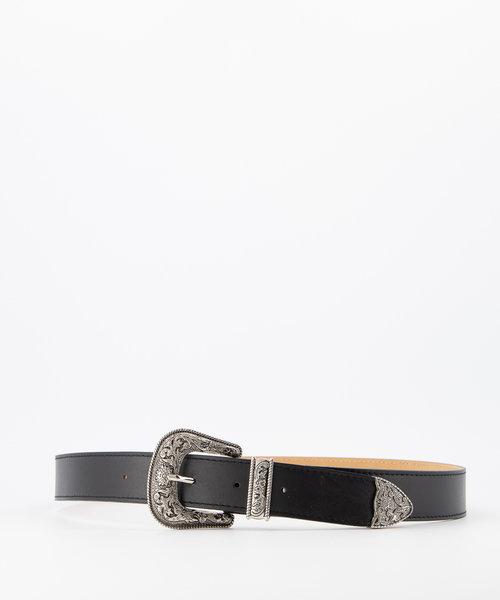 Roxy - Sauvage - Riemen met gesp - Zwart - Zwart - Zilverkleurig