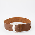Milou - - Belts with buckles - Brown - Bruin - Silver