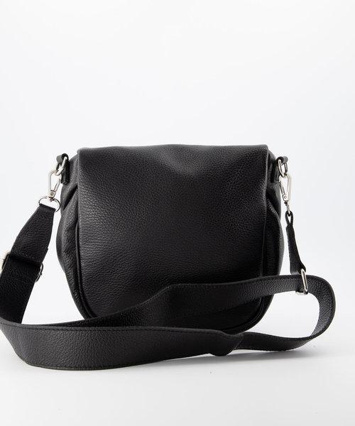 Romsa - Classic Grain - Crossbody bags - Black - D28