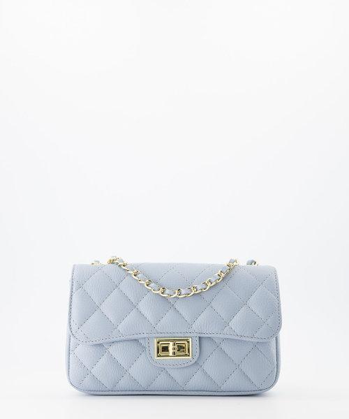 Sophia - Classic Grain - Hand bags - Blue - D92 - Gold