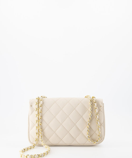 Sophia - Classic Grain - Hand bags - White - D37 - Gold