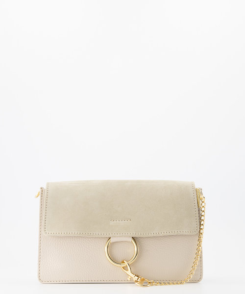 Carrie - Classic Grain - Crossbody bags - White - D37 - Gold