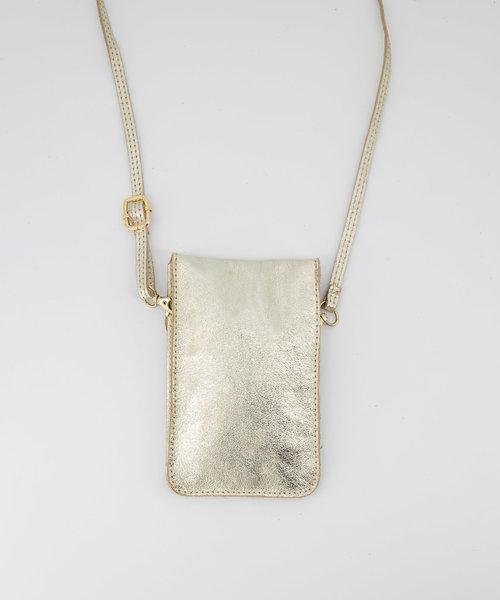 Pona - Metallic - Crossbodytassen - - Goud 3L - Goudkleurig