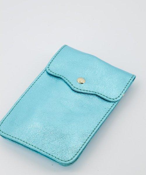 Pona - Metallic - Crossbody bags - Blue - 34L - Gold