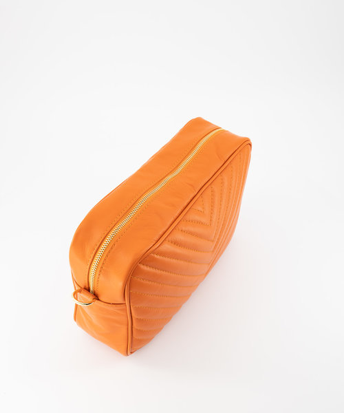 May - Sauvage - Crossbodytassen - Oranje - - Goudkleurig