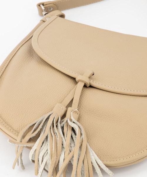 Meghan - Classic Grain - Crossbody bags - Taupe - D05