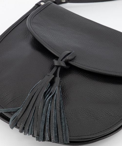 Meghan - Classic Grain - Crossbody bags - Black - D28