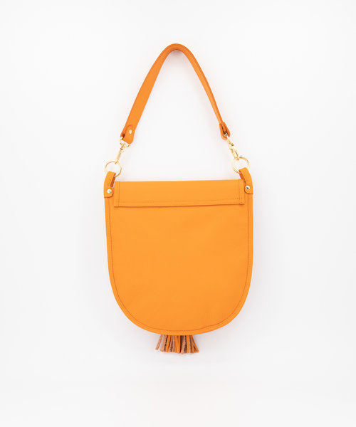 Meghan - Classic Grain - Crossbody bags - Orange - D29