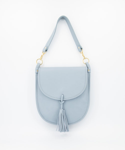 Meghan - Classic Grain - Crossbody bags - Blue - D92 - Gold