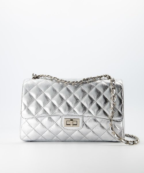Audrey Medium - Sauvage - Crossbody bags - - Zilver - Gold