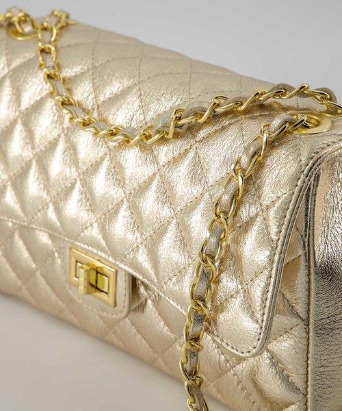 Audrey Medium - Sauvage - Crossbody bags - - Goud - Gold