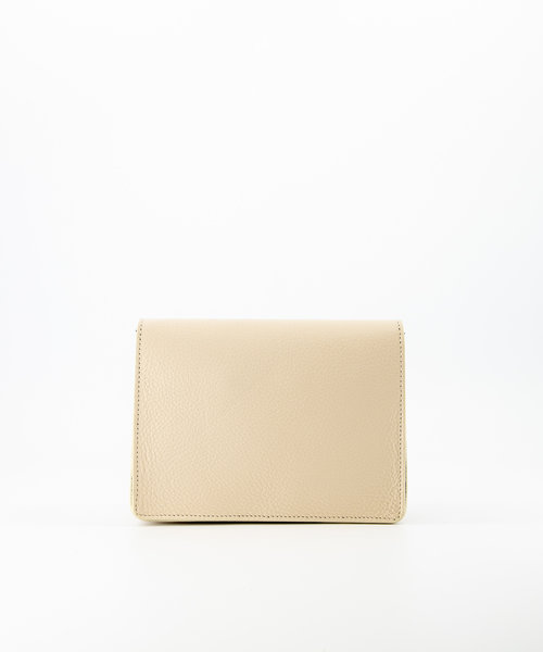 Janice - Classic Grain - Crossbody bags - White - D37 - Gold
