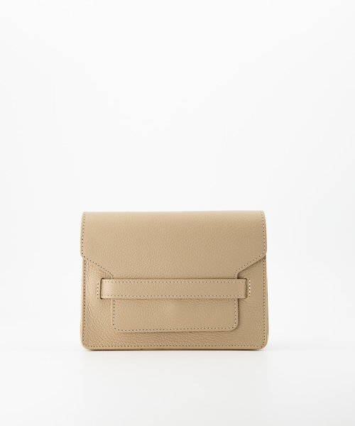Janice - Classic Grain - Crossbody bags - Taupe - D05 - Gold