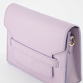 Janice - Classic Grain - Crossbody bags - Purple - D55 - Gold
